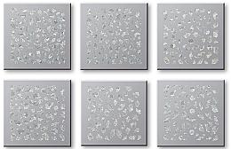 Parfumuri și produse cosmetice Abțibilduri pentru unghii 42744 - Top Choice Nail Decorations Stickers Set