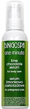 Parfumuri și produse cosmetice Ser pentru corp, cu ciocalată și lime - BingoSpa
