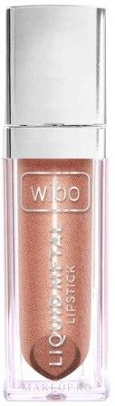 Ruj lichid de buze - Wibo Liquid Metal Lipstick — Imagine 01 - Gentle Princess