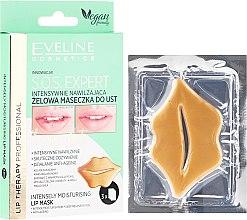 Parfumuri și produse cosmetice Mască-gel pentru buze - Eveline Cosmetics Lip Therapy S.O.S. Expert Intensely Moisturising Lip Mask