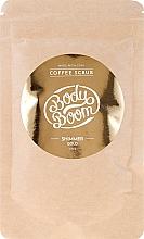 Parfumuri și produse cosmetice Scrub din boabe de cafea pentru corp - BodyBoom Coffe Scrub Shimmer Gold