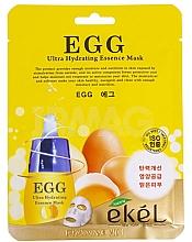 Parfumuri și produse cosmetice Mască de țesut cu extract de gălbenuș de ou - Ekel Egg Ultra Hydrating Mask