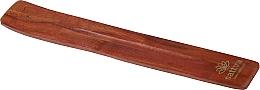 Parfumuri și produse cosmetice Suport din lemn pentru bețișoarele aromatice - Sattva