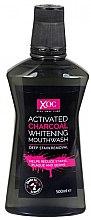 Parfumuri și produse cosmetice Agent de clătire pentru cavitatea bucală - Xoc Activated Charcoal Whitening Mouthwash