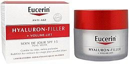 Parfumuri și produse cosmetice Cremă de zi pentru tenul uscat - Eucerin Hyaluron-Filler+Volume-Lift Day Cream SPF15