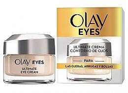 Parfumuri și produse cosmetice Cremă pentru zona ochilor - Olay Eyes Ultimate Eye Contour Cream