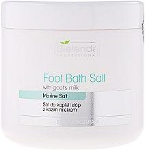 Parfumuri și produse cosmetice Sare pentru pedichiură cu lapte de capră - Bielenda Professional Foot Bath Salt With Goat's Milk