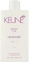 Parfumuri și produse cosmetice Neutralizator pentru hidratarea și întărirea părului - Keune Keratin Curl Neutralizer 1:1