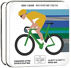 "Parfumuri și produse cosmetice Săpun ""Ciclism"" - Scottish Fine Soaps Cycling Sports Soap In A Tin"