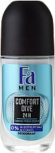 Parfumuri și produse cosmetice Deodorant Roll-On - Fa Men Comfort Dive Deodorant