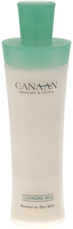 Lapte demachiant pentru ten normal și uscat - Canaan Minerals & Herbs Cleansing Milk Normal to Dry Skin — Imagine N2