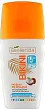 Parfumuri și produse cosmetice Spray de nucă de cocos pentru față și păr - Bielenda Bikini Tanning Mist SPF 15