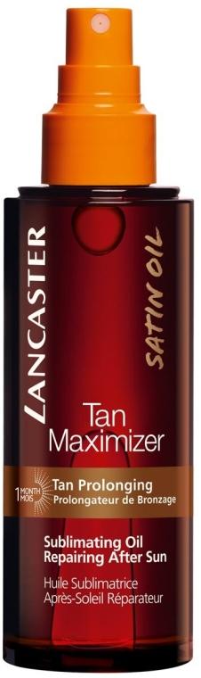 Ulei de corp - Lancaster Tan Maximizer Sublimating Oil Repairing After Sun — Imagine N1
