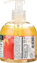 Cremă cu extract de măr francez pentru mâini - Coslys Hand & Nail Care Hand Wash Cream With Organic Apple — Imagine N2