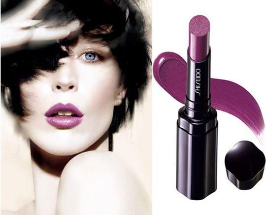 Ruj de buze - Shiseido Shimmering Rouge — Imagine N3