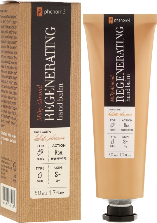 Balsam revitalizant pentru mâini - Phenome Sustainable Science Regenerating Hand Balm — Imagine N1