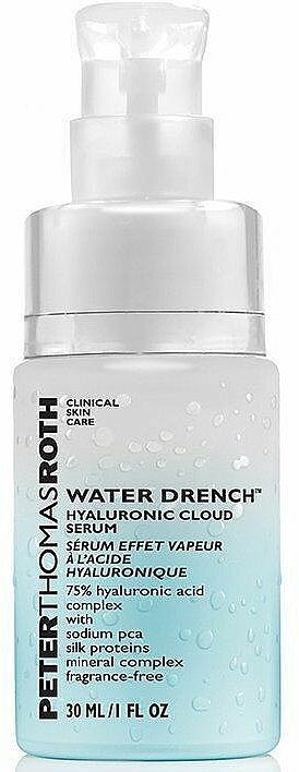 Ser hidratant cu acid hialuronic - Peter Thomas Roth Water Drench Hyaluronic Cloud Serum — Imagine N1