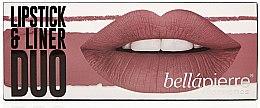Parfumuri și produse cosmetice Set - Bellapierre Lipstick & Liner Duo (lip/liner/1.5 g + lipstick/3.5g) (Antique Pink)