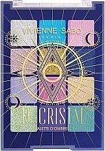 Parfumuri și produse cosmetice Paletă farduri de ochi - Vivienne Sabo Le Cristal Eyeshadow Palette