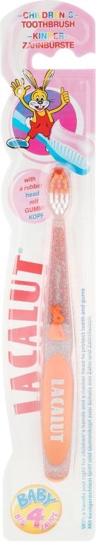 """Periuță de dinți """"Baby"""", orange - Lacalut  — Imagine N1"""