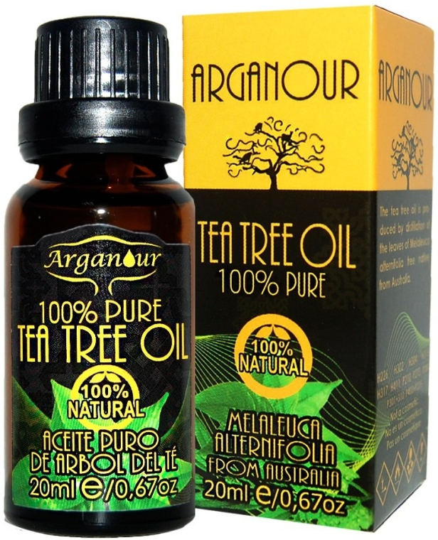 Ulei de arbore de ceai - Arganour 100% Pure Tea Tree Oil — Imagine N1
