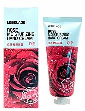 Parfumuri și produse cosmetice Cremă cu extract de trandafir pentru mâini - Lebelage Rose Moisturizing Hand Cream