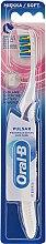 Parfumuri și produse cosmetice Periuță electrică acumulator, moale, alb-mov - Oral-B Pulsar Sensitive&Gum Care