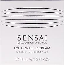 Parfumuri și produse cosmetice Cremă contur pentru ochi - Kanebo Sensai Cellular Performance Eye Contour Cream