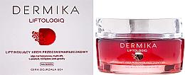 Cremă de față - Dermika Liftologiq Cream 60+ — Imagine N1