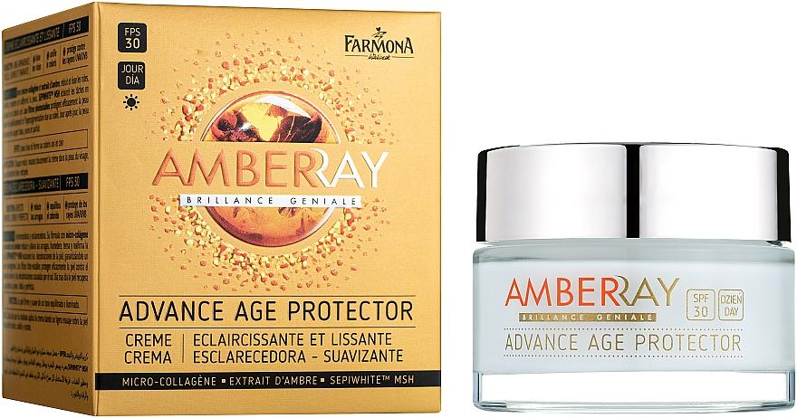 Cremă de zi cu efect de netezire pentru față SPF 30 - Farmona Amberray Cream SPF30