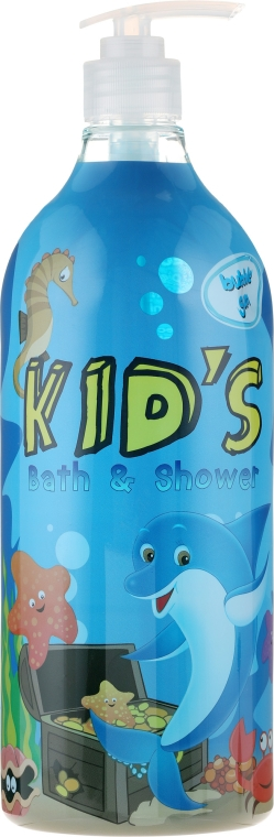 Gel-Spumă de baie - Hegron Kid's Bubble Gum Bath & Shower