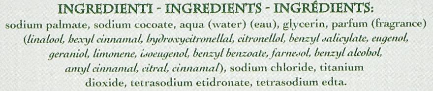 """Săpun natural """"Fructe și Crin"""" - Saponificio Artigianale Fiorentino Fruits&Lily Soap — Imagine N2"""