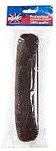 Parfumuri și produse cosmetice Burete pentru coc, 23 cm, maro - Ronney Professional Hair Bun With Rubber 059