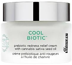 Parfumuri și produse cosmetice Cremă revigorantă și calmantă cu prebiotice pentru față - Dr. Brandt Cool Biotic Prebiotic Redness Relief Cream