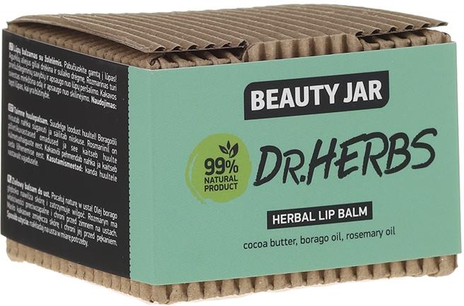 Balsam de buze - Beauty Jar Dr.Herbs Herbal Lip Balm