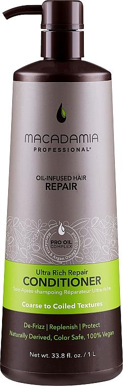 Balsam pentru restaurarea părului - Macadamia Professional Ultra Rich Repair Conditioner