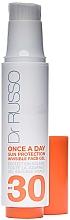 Parfumuri și produse cosmetice Cremă protecție solară pentru față - Dr. Russo Once A Day Sun Protection Invisible Face Gel SPF 30