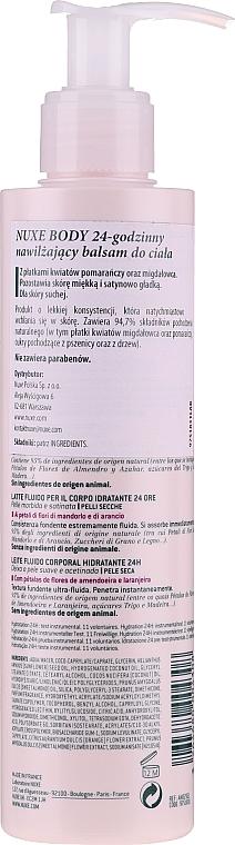 Lapte hidratant pentru corp - Nuxe Body 24hr Moisturizing Body Lotion — Imagine N2