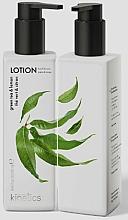 """Parfumuri și produse cosmetice Loțiune nutritivă pentru mâini și corp """"Ceai verde și Lămâie"""" - Kinetics Green Tea & Lemon Lotion"""