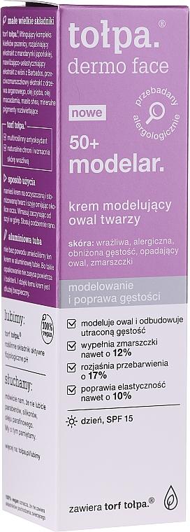 Cremă de zi pentru față - Tolpa Dermo Face Modelar 50+ Day Cream SPF15 — Imagine N1