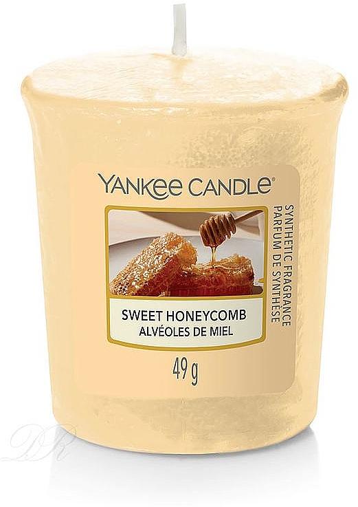 Lumânare aromată - Yankee Candle Votiv Sweet Honeycomb — Imagine N1