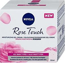 Parfumuri și produse cosmetice Gel-cremă pentru față - Nivea Rose Touch