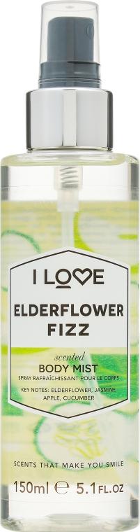 "Spray de corp ""Cocktail Flori de soc"" - I Love... Elderflower Fizz Body Mist — Imagine N1"