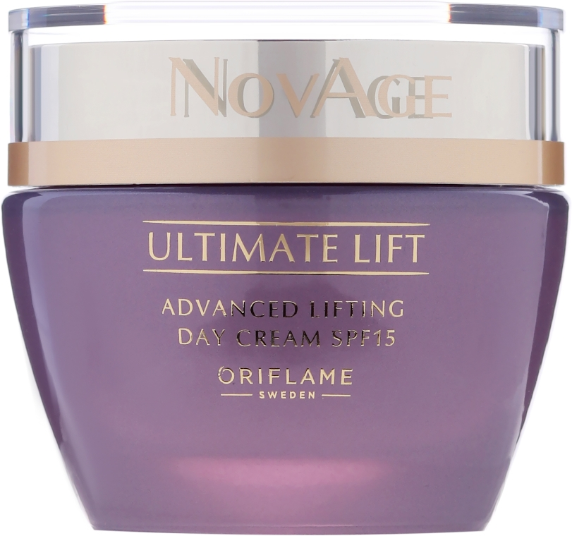 Cremă Lift de zi cu SPF 15 - Oriflame NovAge Ultimate Lift Advanced Lifting Day Cream — Imagine N2