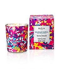 Parfumuri și produse cosmetice Lumânare aromată în suport de sticlă - Baija Delirium Floral Candle Wax