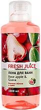 """Parfumuri și produse cosmetice Spumă de baie """"Trandafir și guava"""" - Fresh Juice Rose Apple and Guava"""