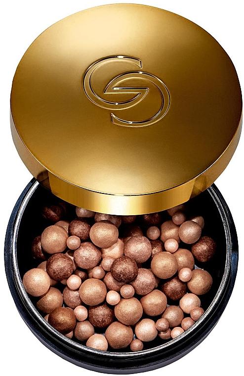 Highlighter în bile pentru față - Oriflame Giordani Gold Hightlighter Pearls — Imagine N1