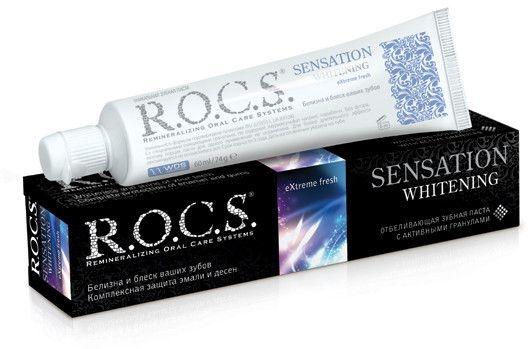"""Pastă de dinți """"Albire senzațională"""" - R.O.C.S.. — Imagine N1"""