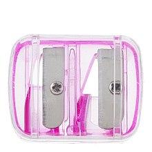 Parfumuri și produse cosmetice Ascuțitoare dublă pentru creioane, roz - Top Choice