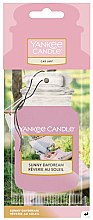 Parfumuri și produse cosmetice Aromatizator auto - Yankee Candle Car Jar Sunny Daydream Air Freshener